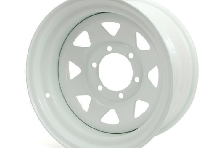 диск стальной ниссан тойота митсубиси J8 R15 ET -3 белый