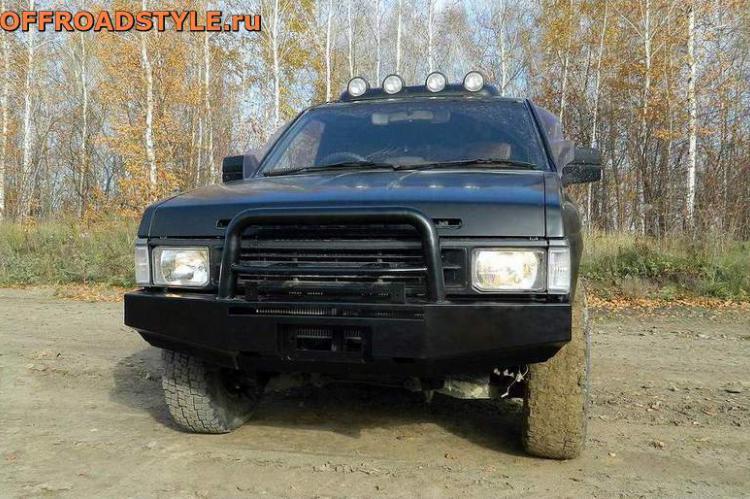 силовой бампер под лебедку Nissan Terrano 1  Pathfinder в кузове WD21 купить