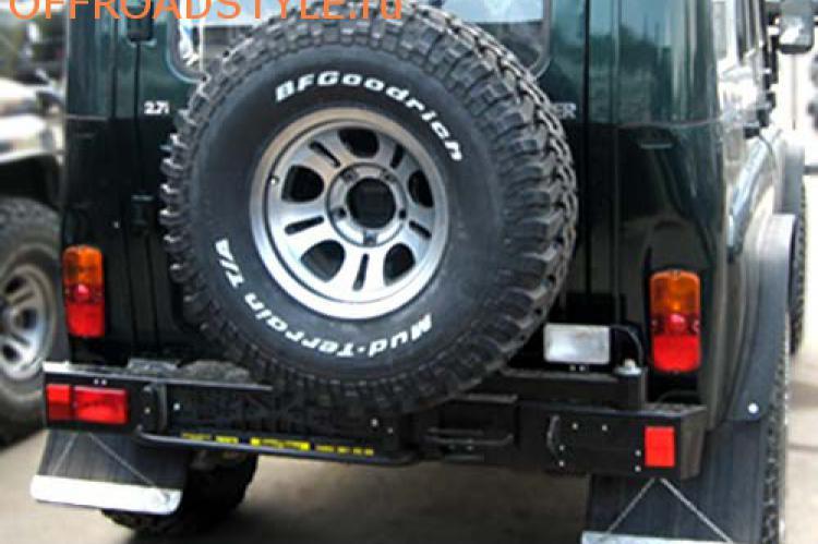 Задний силовой бампер с калиткой для запасного колеса для УАЗ Хантер калининград