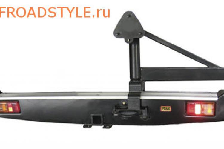 силовой задний бампер с калиткой Тойота хайлюкс с 2005 доставка россия украина
