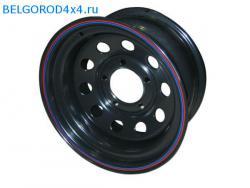 Диск Off Road Wheels 5x139.7 УАЗ 7х15 ET -10 черный