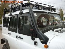 Багажник экспедиционный с лестницей на УАЗ Хантер, 469 купить краснодар кемерово